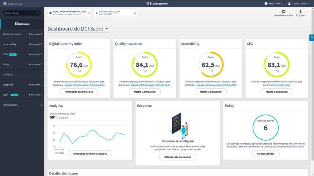 siteimprove-dashboard